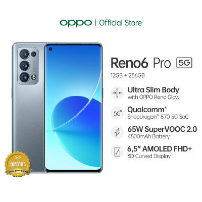 [PRE-ORDER] OPPO Reno6 Pro 5G [5G Network, AI Highlight Video, 65W SuperVOOC 2.0, Ultra-Slim Body] OPPO Official Store