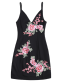 Mini Floral Embroidered Bodycon Dress