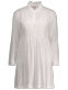Cotton Ruffle Collar Shirt Dress ONE SIZE