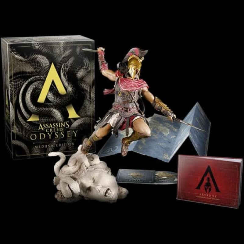 Jual Ps4 Assassin S Creed Odyssey Medusa Edition R3 Ps Enterprise