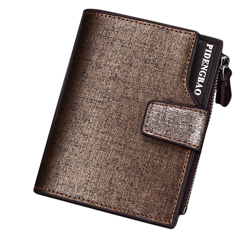 Purse PU Leather Coin Bag Men/'s ID Credit Card Holder Wallet
