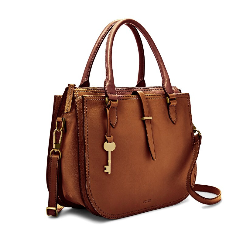 8a6f0b955 Jual Fossil Ryder - Leather - Satchel - Brown - Tas Wanita - ZB7412-200  Urban Icon Official Store