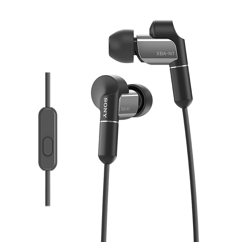 SONY XBA-N1AP Balanced Armature In-Ear Headphones - Black