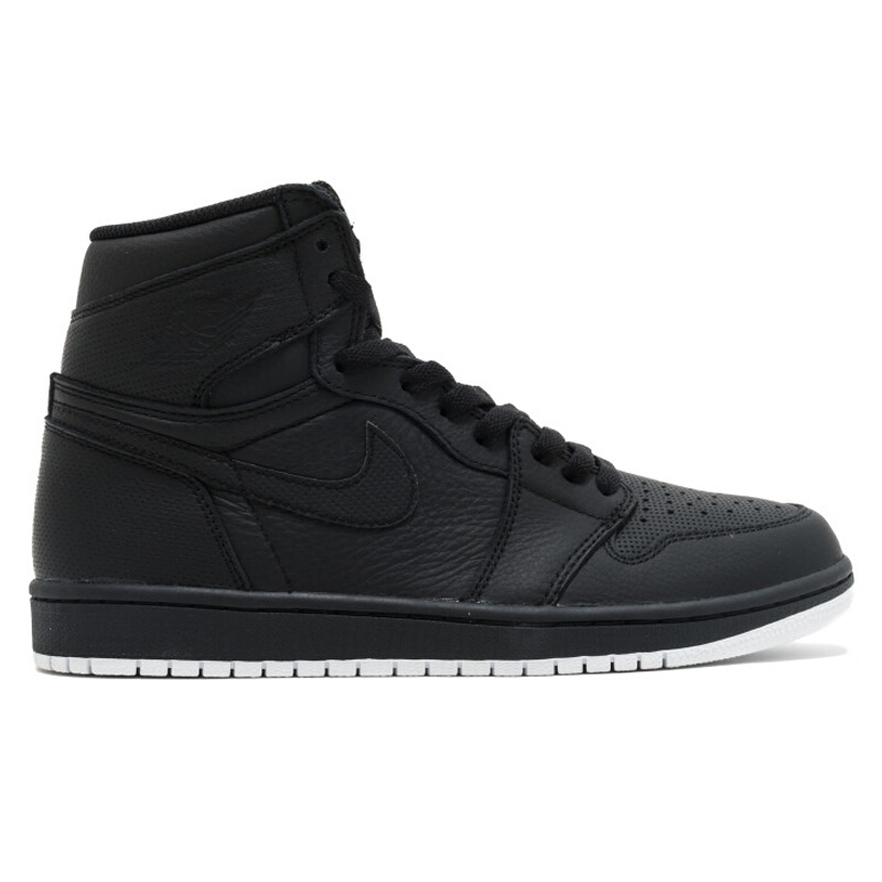 Jual NIKE Nike Air Jordan 1 Retro High - Black  44  555088-002 SPRT 8b54f4de2c