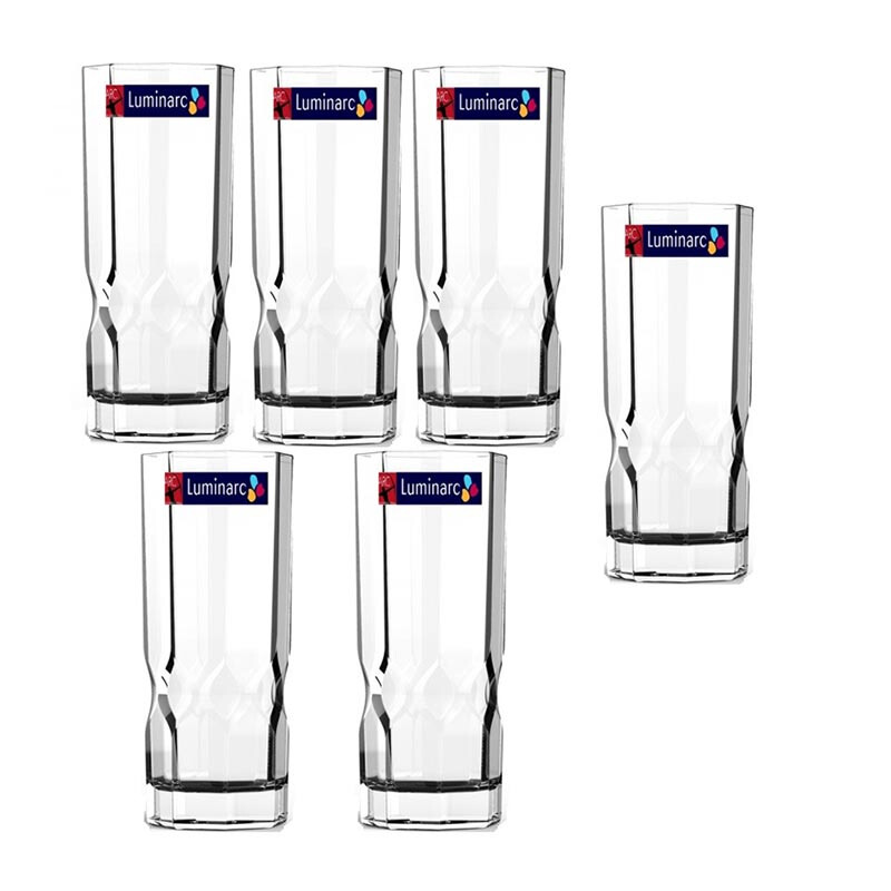 LUMINARC Gelas Octime Diamond 320ml - Set of 6 Pcs