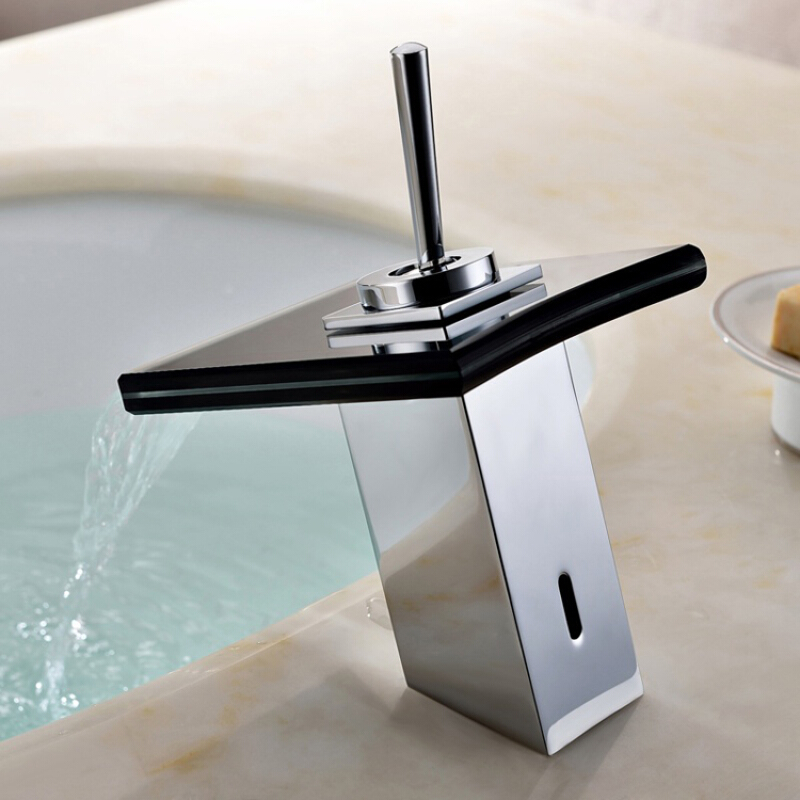 LANGFAN J4807 Waterfall Hot & Cold Water Faucet