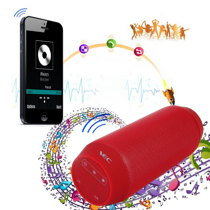 BQ - 615 Portable Wireless Bluetooth 3.0 Stereo Sound Speaker