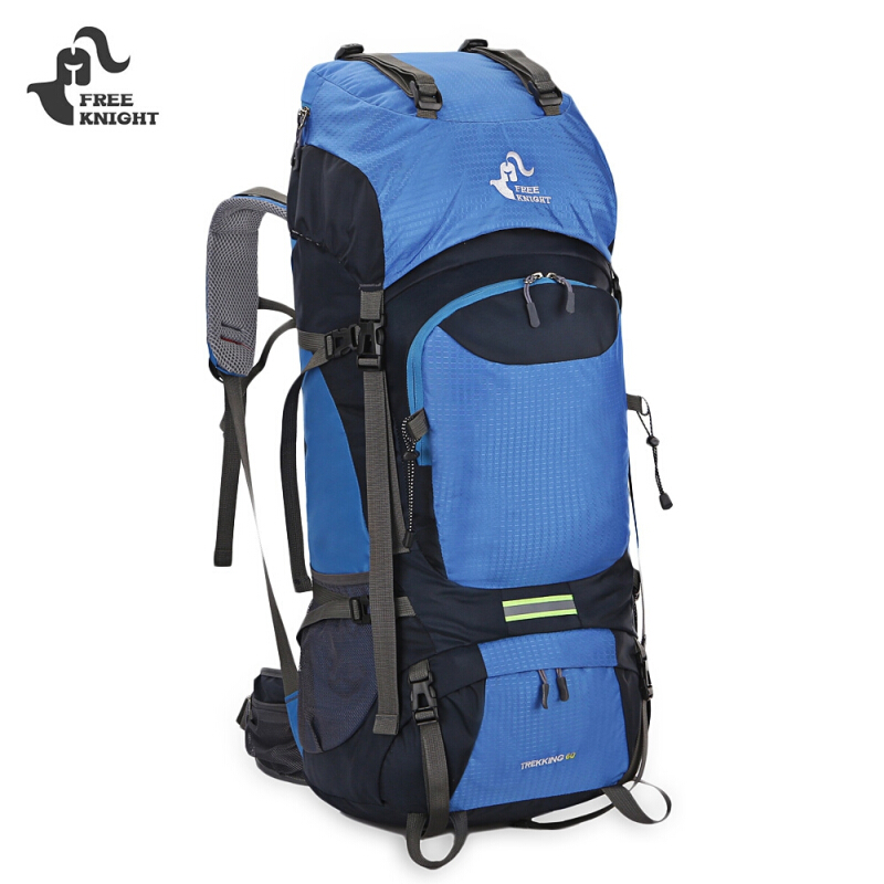 FREEKNIGHT 0399 60L Unisex Backpack for Hiking Climbing
