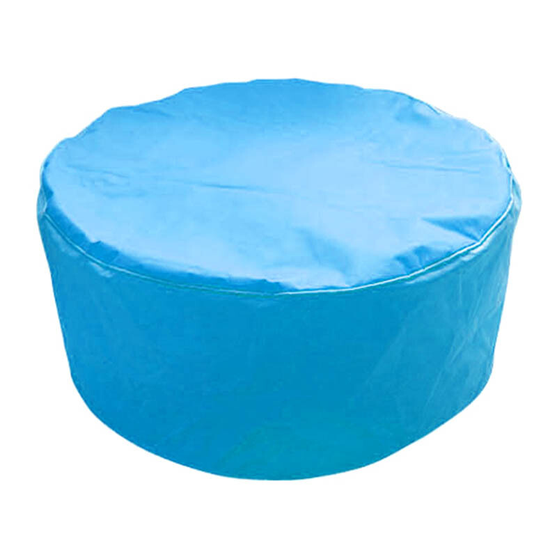 PRISSILIA Bean Bag Pouf Blue 36x80x80cm