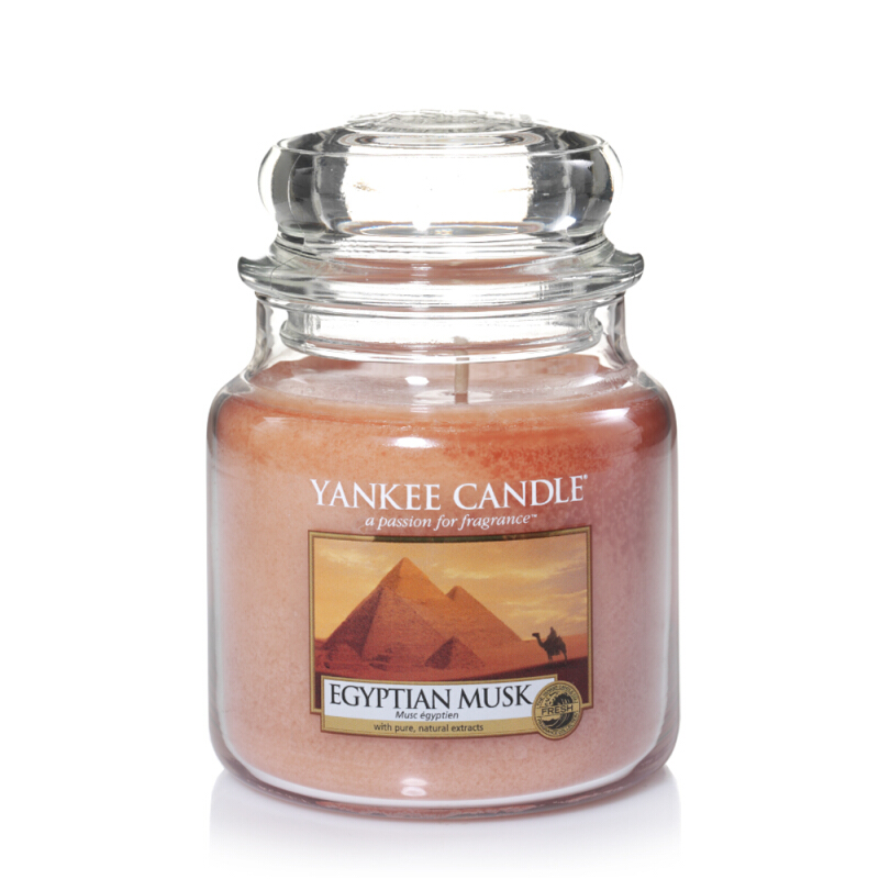 Yankee Candle Medium Candle Jar - Egyptian Musk - 411gr