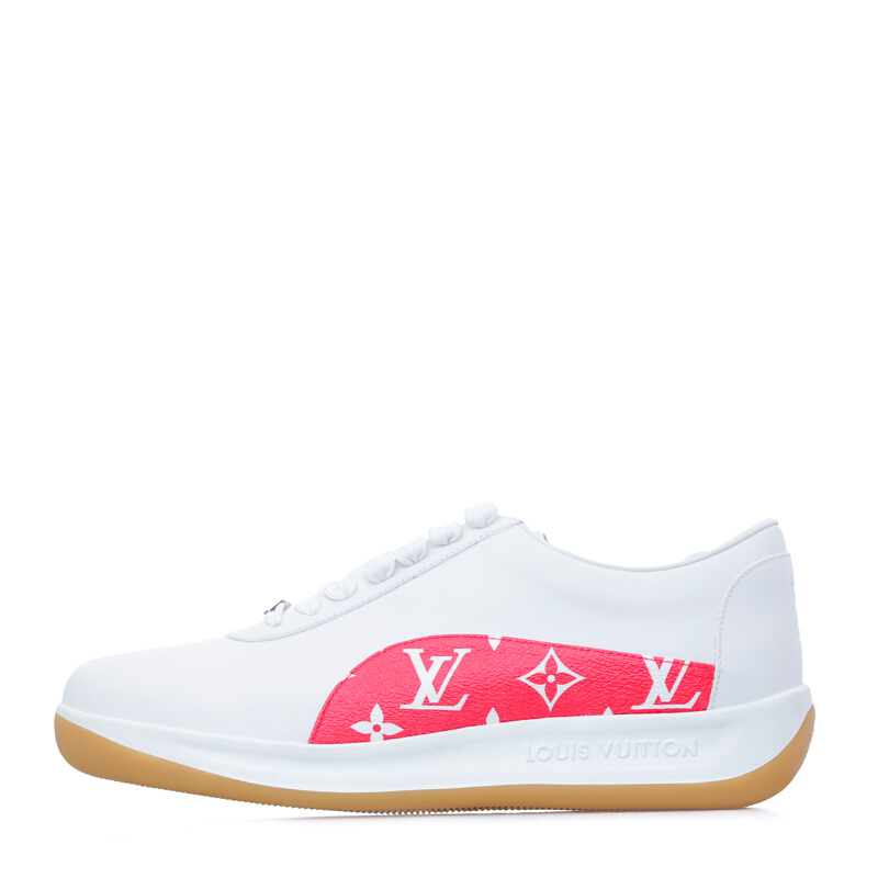 926af2bc03f Jual LOUIS VUITTON x Supreme Sport Sneakers White [LVU01620S] 40.5 ...