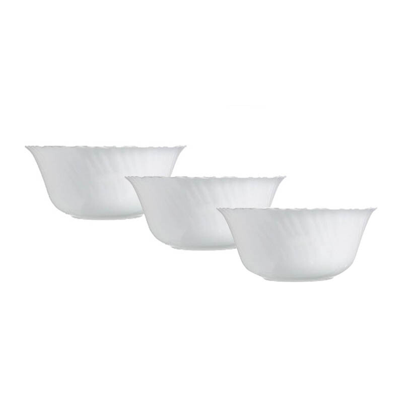 LUMINARC Mangkuk Feston Bowl Set of 3 - 12cm