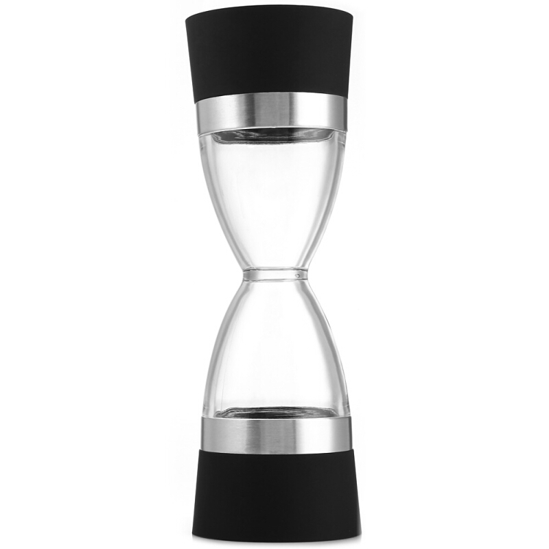 Hourglass shape Dual salt pepper Mill Spice Grinder