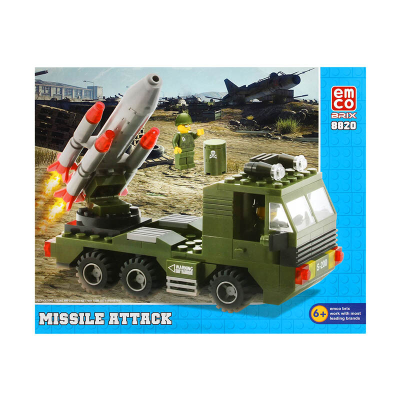 3IN1 MILITARY 8601 8608 Source Emco Brix Adventure & Rescue Star Voyager 8663. Source · EMCO Missile Attack 8820