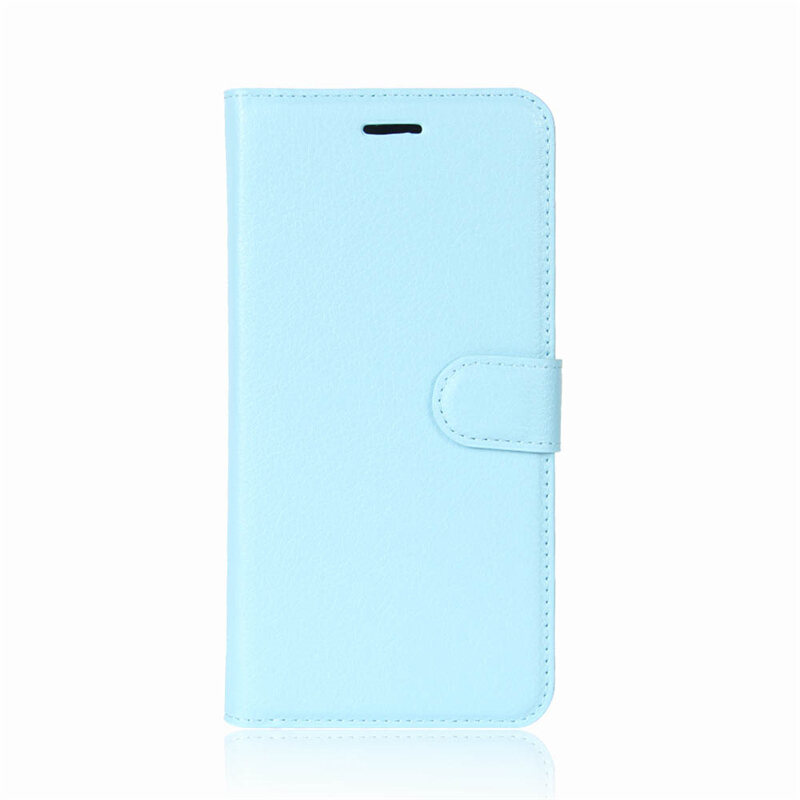 GANGXUN Huawei Y3 2017 Case High Quality PU Leather Flip Cover Kickstand Magnetic Wallet Cover for Huawei Y3 2017-Blue