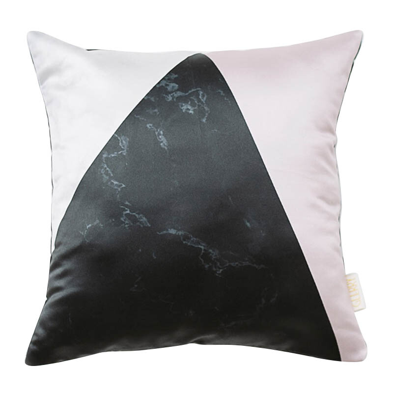 GLERRY HOME DÉCOR Bianco Pink Cushion - 40x40Cm