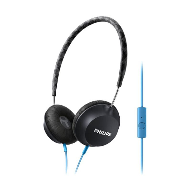PHILIPS SHL 5105 LIGHTWEIGHT HEADPHONE WITH MICROPHONE HITAM