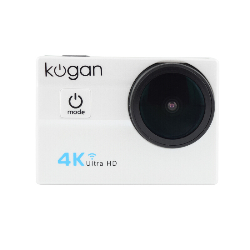 KOGAN Action Camera 4K+ UltraHD - White