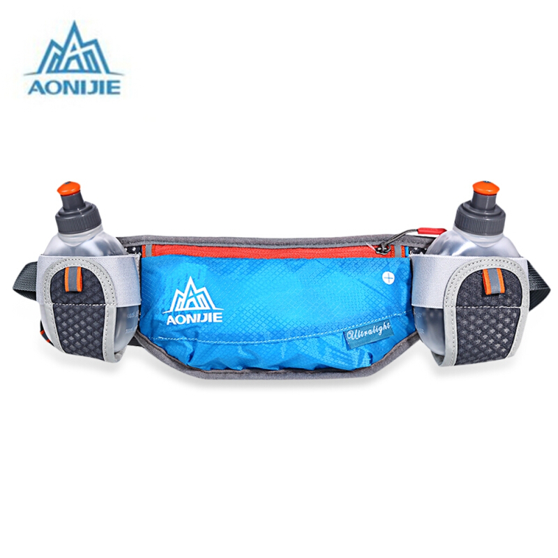 AONIJIE Unisex Running Waist Bag with 170ML Water Kettle