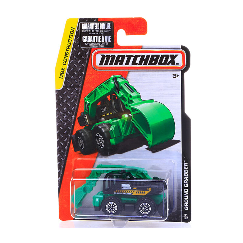 Jual MATCHBOX Contruction: Ground Grabber 45/120 JD.id