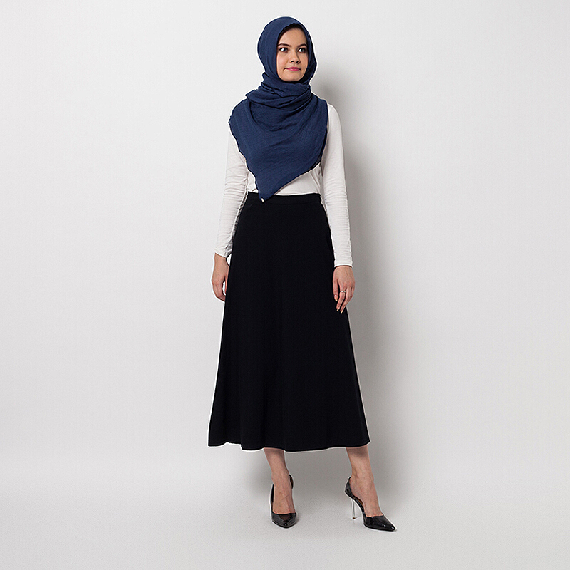 COVERING STORY Valha Flare Skirt Black [One Size]