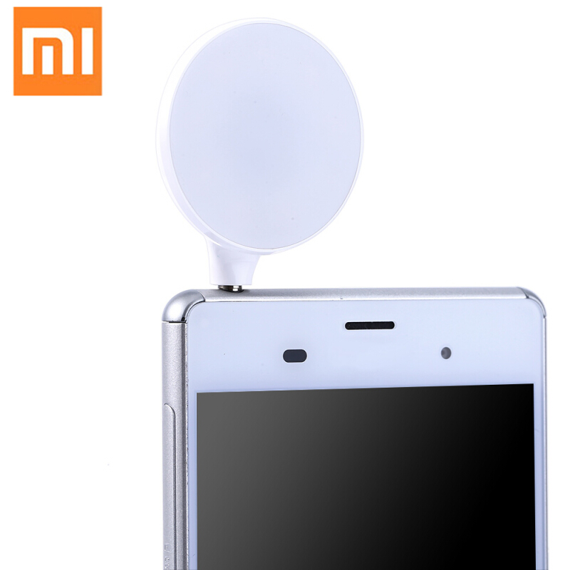 Xiaomi Portable Mini 3.5mm Jack LED Self-timer Flash Fill-in Light Cellphone Pocket Spotlight Photo Video Lamp