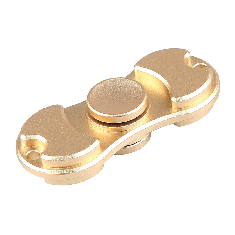 SPINNER Alloy Dual Blade Fidget Spinner - Golden 201A (EVENT PONTIANAK)