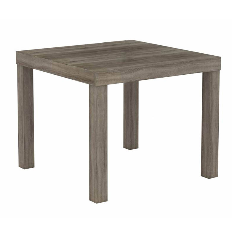 JYSK End Table Køge 50x50x41cm Sonoma Oak Dark