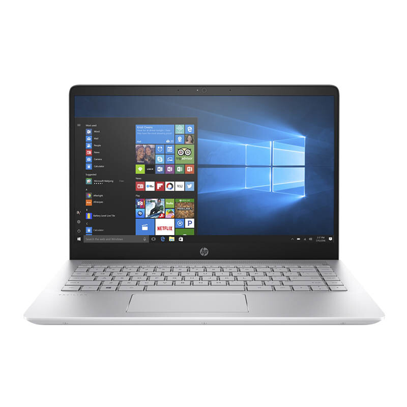 "HP Pavilion 14-bf010TX [2DN79PA] 14""FHD/Core i7-7500U/8GB/1TB+128GB SSD/Nvidia Geforce 940MX 2GB/No-ODD/Win10 HE - Silver"