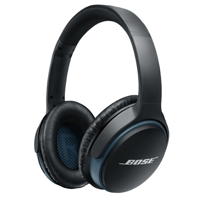 Bose Bluetooth Headphone Soundlink Around Ear - Black