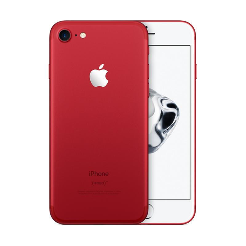 jual apple iphone 7 plus 128gb red new tech. Black Bedroom Furniture Sets. Home Design Ideas