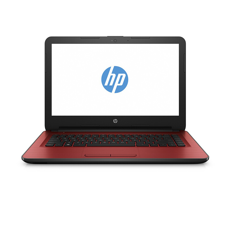 "HP 14-am015TU 14""/N3060/4GB/500GB/Integrated Graphics/Win10 SL - Red (Bag Included)"