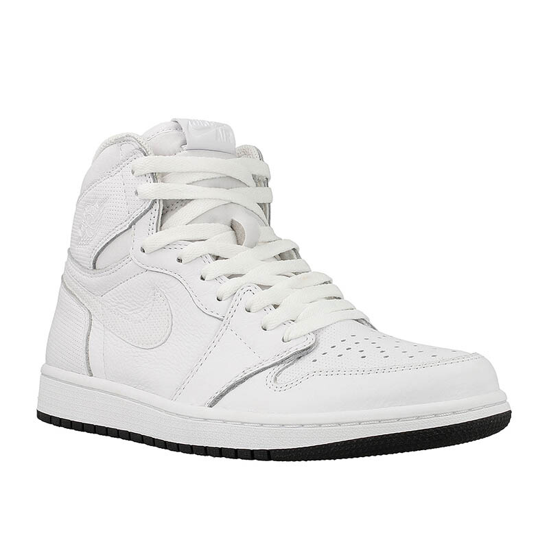 Jual NIKE Air Jordan 1 Retro High Og - White  40  555088-100 JD.id 8eef1d496e