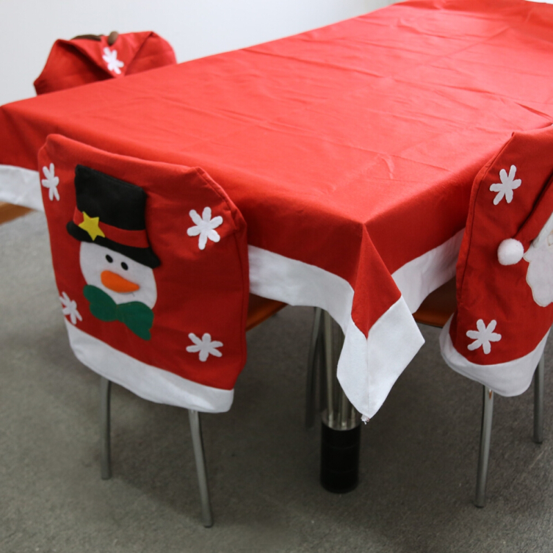 Christmas Tablecloth Table Cover Home Decor for Party Holiday