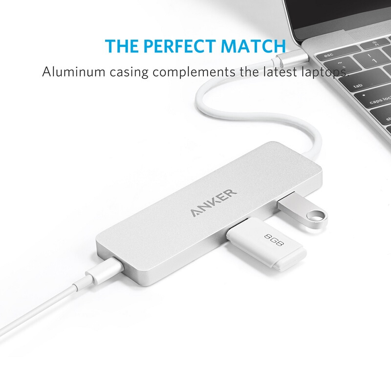 ANKER Premium USB-C Hub with HDMI and Power Delivery [A8342041]