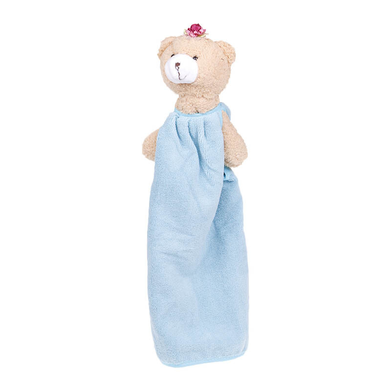 TERRY PALMER Hand Towel Microfiber  Bear Large - Blue/SBYY1700-MF-NBU
