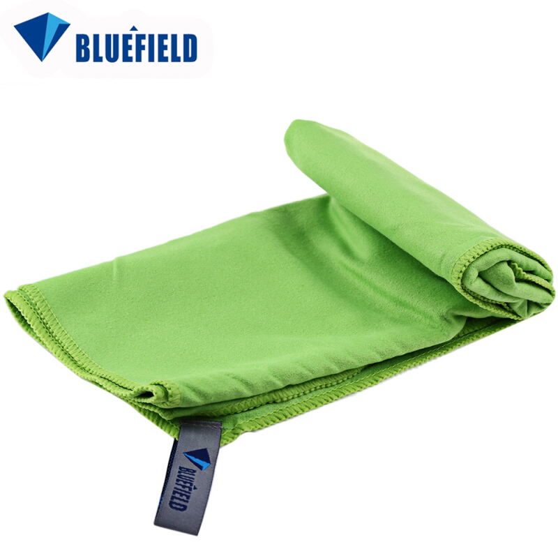 300 x 700mm Bluefield Quick Dry Towel Portable Microfiber Facecloth Outdoor Sport Accessory