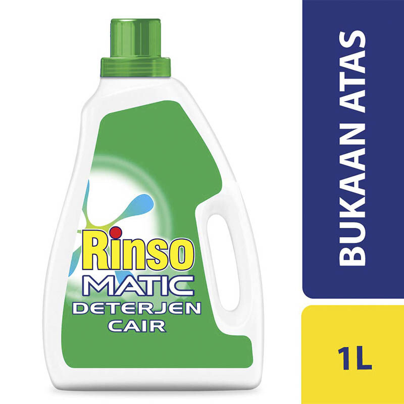 RINSO Matic Top Load Liquid Bottle 1l