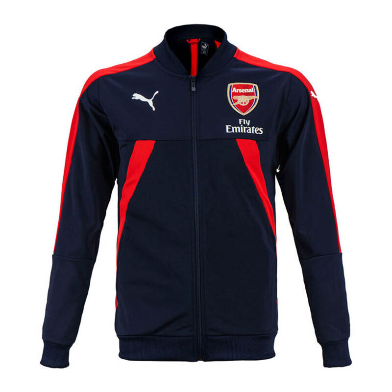 PUMA AFC Stadium Jacket - Navy/Red