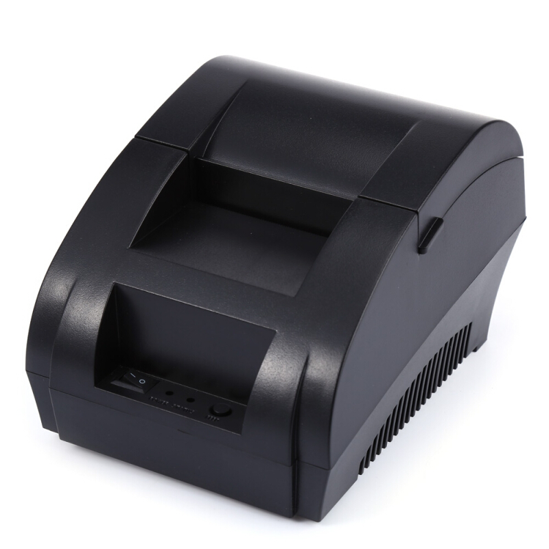 ZJ - 5890K Portable 58mm USB POS Receipt Thermal Printer EU PLUG
