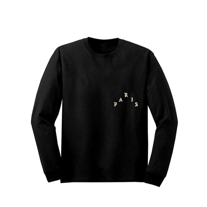I FEEL LIKE PABLO I Feel Like Pablo Sweater Black/Gold - Black/Gold [M] APIFSWBLGL
