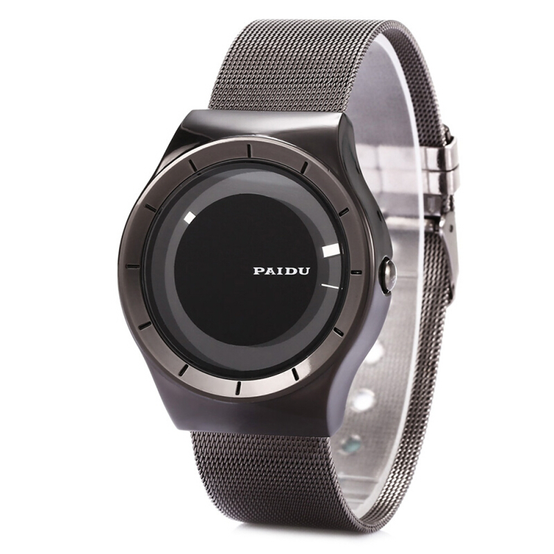 PAIDU 58977 Male Quartz Watch Blocked Pointer Wristwatch