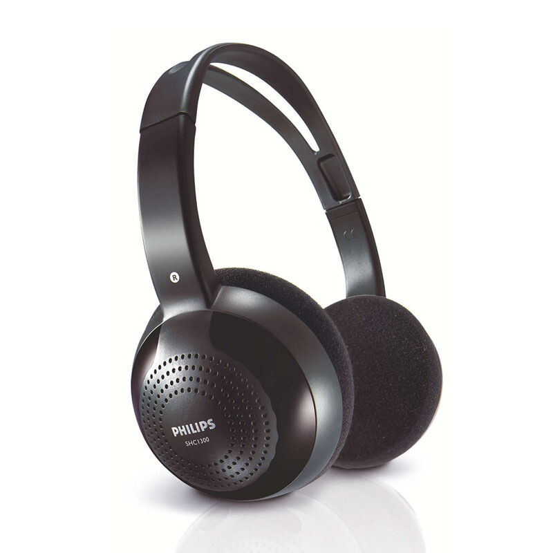 PHILIPS SHC 2000 CORDLESS HEADPHONE HITAM