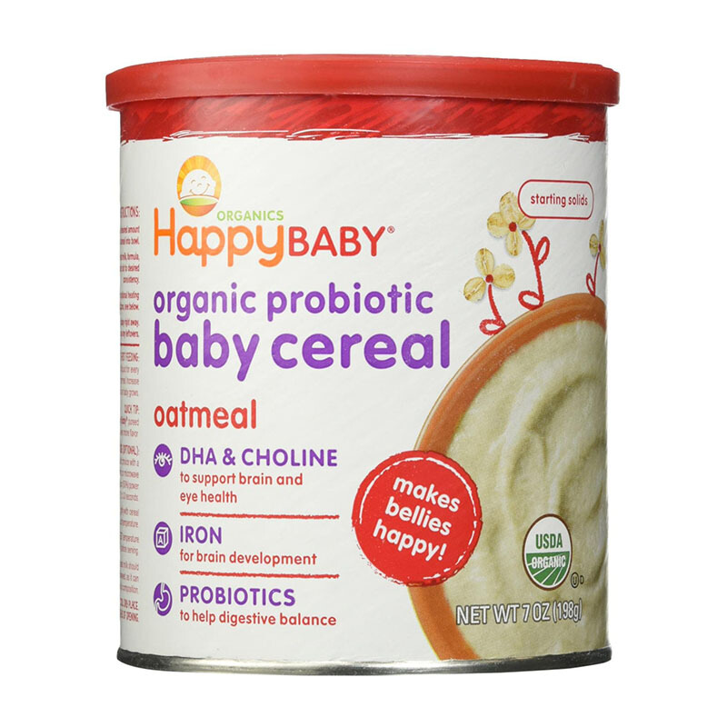 Jual HAPPY BABY Baby Cereal Oatmeal Tin