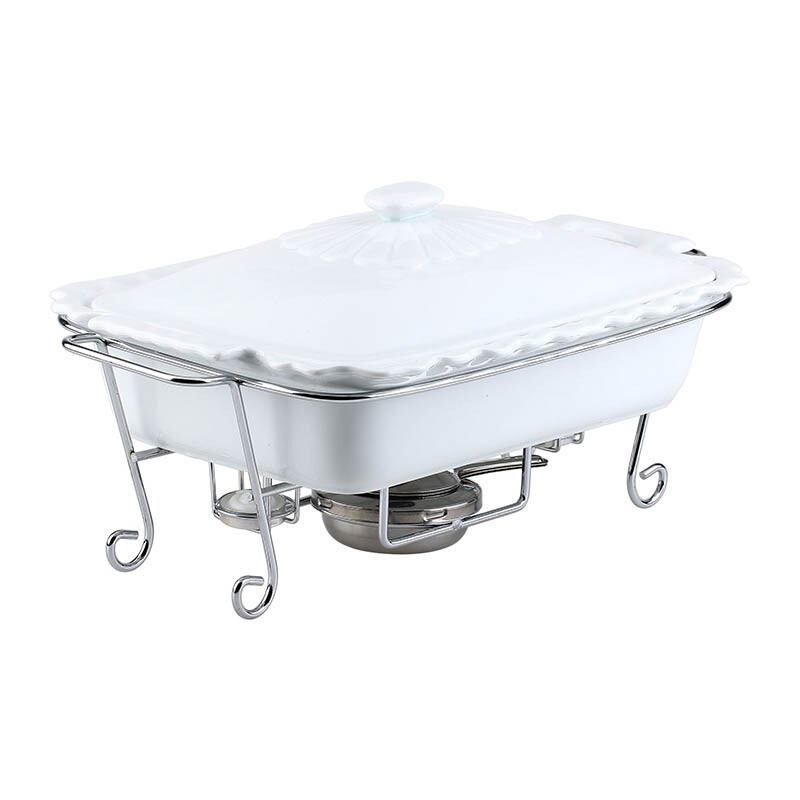 NAKAMI Rectangular Food Warmer 15 inch - WFW501