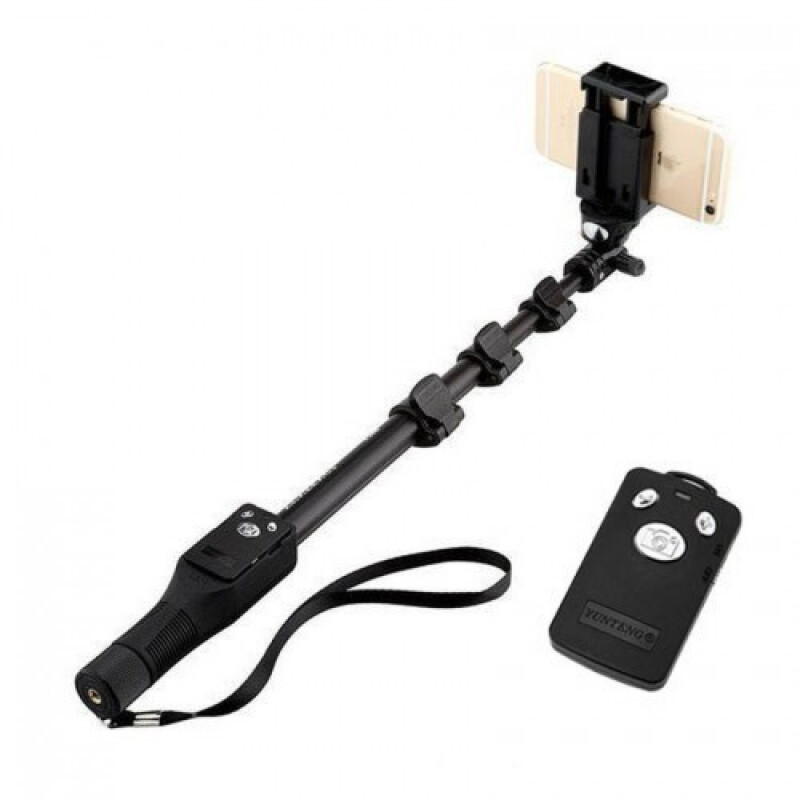 jual yunteng yt 1288 bluetooth selfie stick black combo cell mobile phone. Black Bedroom Furniture Sets. Home Design Ideas