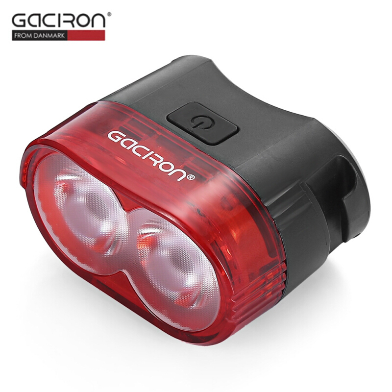Gaciron W09 60LM USB Rechargeable Bike Smart Rear Light