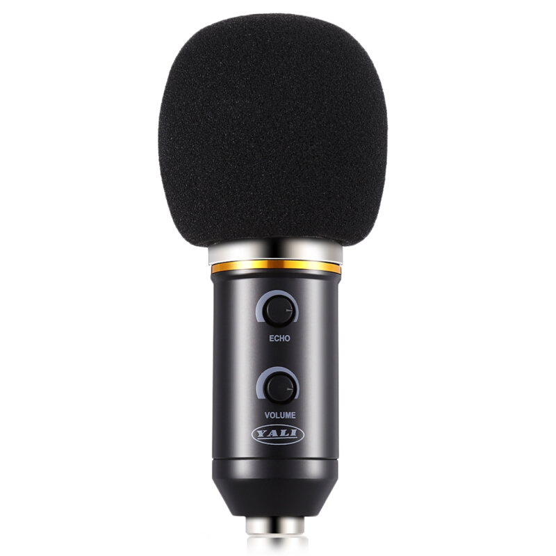 YALI MK - F200FL 3.5mm Audio Wired Sound Recording Condenser Microphone