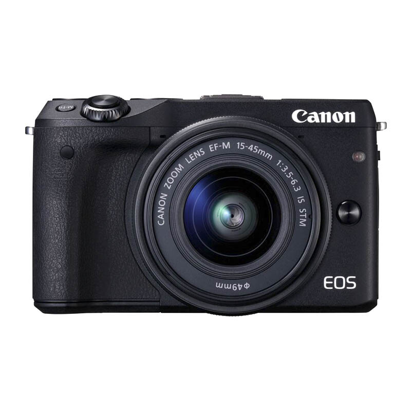 CANON EOS M3 with EF-M15-45mm - Black