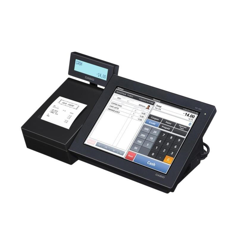 Casio POS System Cash Register Mesin Kasir VX-100 - Black